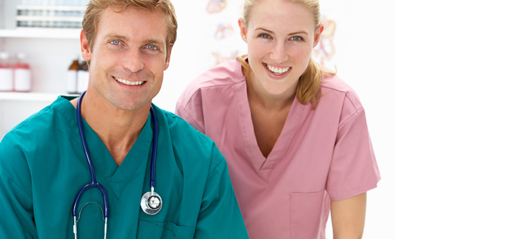 Two doctors that need mortgage financing for physicians